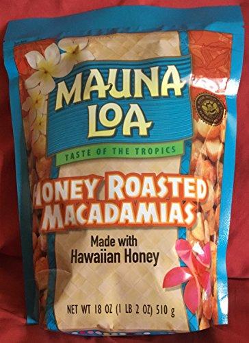 Mauna Loa Honey Roasted Macadamias 18 oz.