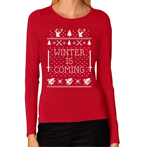 Winter Is Coming Ugly Christmas Long Sleeve T-Shirt