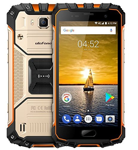 Ulefone ARMOR 2 Rugged Tough 4G Smartphone 5 0 inches Android 7 0 IP68  Waterproof Shockproof Dustproof 6GB RAM 64GB ROM 16MP & 13MP Cameras NFC  OTG