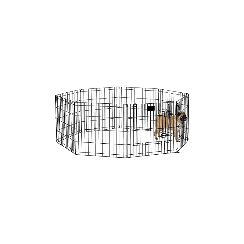 dog supplies online midwest homes for pets folding metal exercise pen / pet playpen