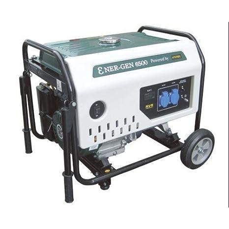 Ayerbe - Generador ener-gen 6500 kt-188ohv 13hp: Amazon.es ...