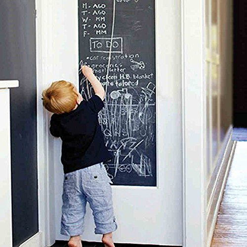 Copter Shop 45*200cm Chalkboard Wall Sticker Cultivate Children's DIY Kids Room Removable Graffiti Painting Decor Mural Decals Art