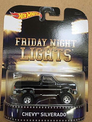Hot Wheels Retro Friday Night Lights Chevy Silverado Die Cast (Hot Wheels Light)