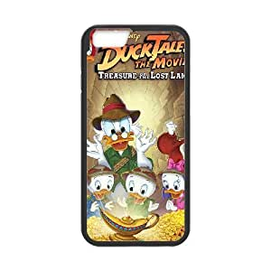 DuckTales The Movie - Treasure of the Lost Lamp iPhone 6 Plus 5.5 Inch Cell Phone Case Black