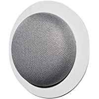 The Simple Built-In Mini Mount: Custom Built-In Wall or Ceiling Mount Holder for Home Mini Voice Assistants by Google - Designed in the USA by Dot Genie (5-Pack)