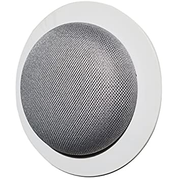 Mount Genie Simple Built-in Wall or Ceiling Mount for Google Home Mini (1st Gen) | Award Winning Design | Improves Sound and Appearance | Designed in USA (1-Pack)