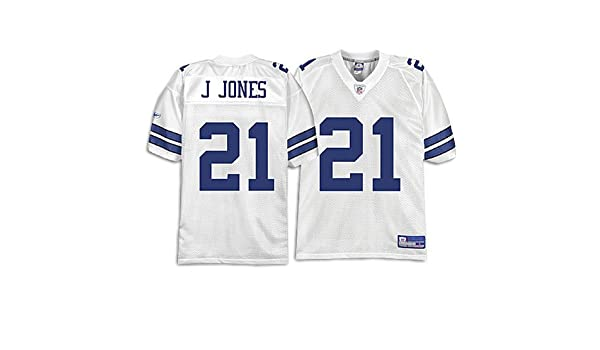 new styles 7c7b5 ff36d Amazon.com : Cowboys - Reebok Men's NFL White Replica Jersey ...
