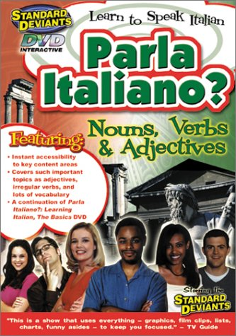 The Standard Deviants - Parla Italiano (Learning Italian - Nouns, Verbs & Adjectives)