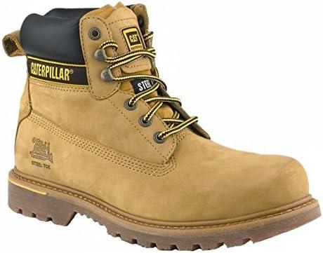 Cat Footwear Holton S3 HRO SRCMens Honey, Bottes de sécurité Homme