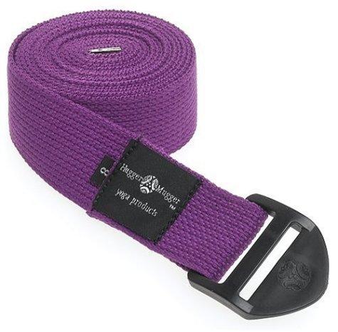 Hugger Mugger Cinch Yoga Strap (Purple, 8 ft.)
