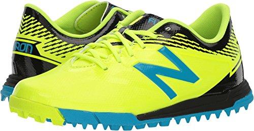 New Balance Boys' Furon3.0 Dispatch JNR TF Soccer Shoe, hi lite/Maldives, 35 M US Big Kid ()