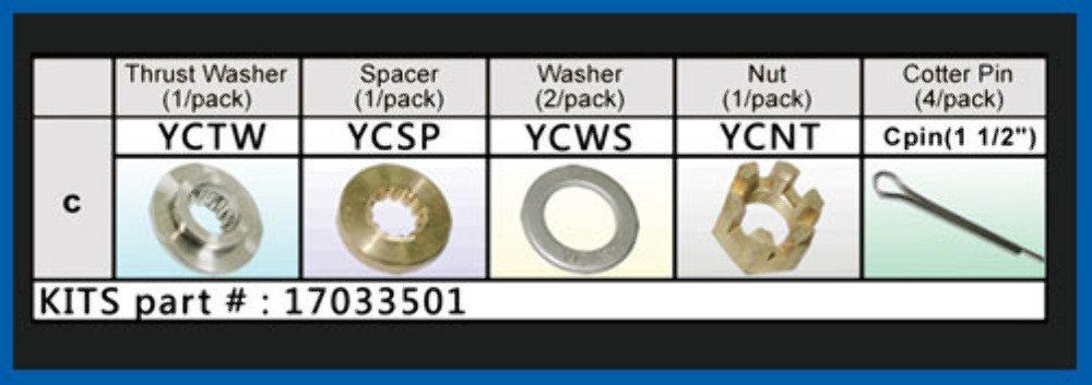 6218814 Sola Yc-Pkt Yamaha Kit Assy United Sporting Company 17033501