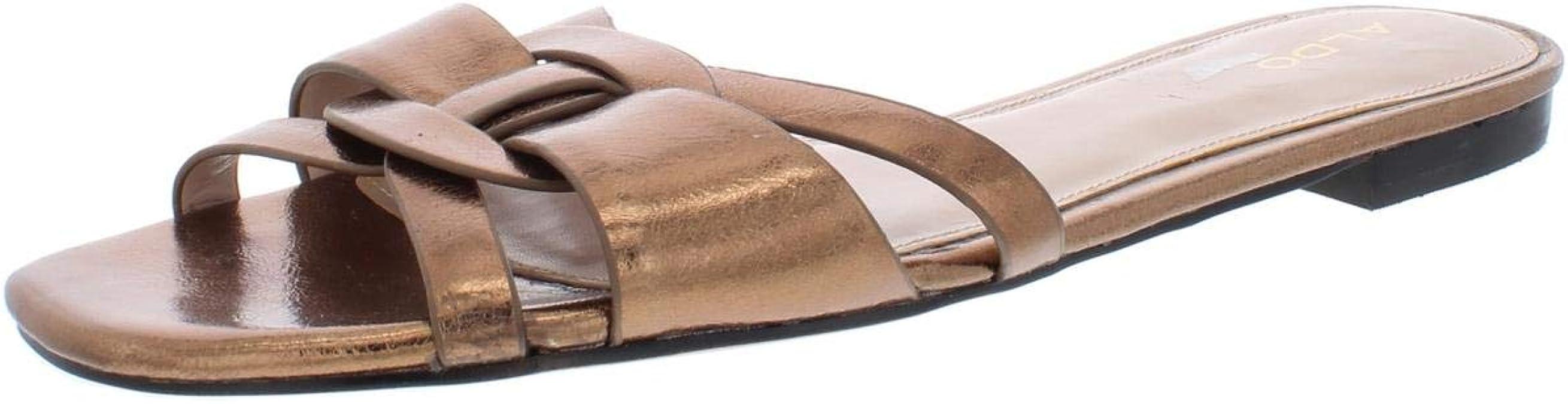 Red Patent Women/'s Aldo Astirassa Fashion Slide Sandals