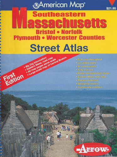 County Massachusetts Map - American Map Southeastern Massachusetts: Brisol, Norfolk, Plymouth, Worcester Counties
