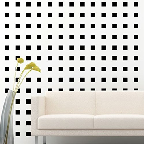 Square Wall Decals (2