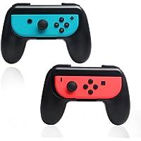 Kit 2 Handgrips suportes pegadores para Joycons de Nintendo Switch