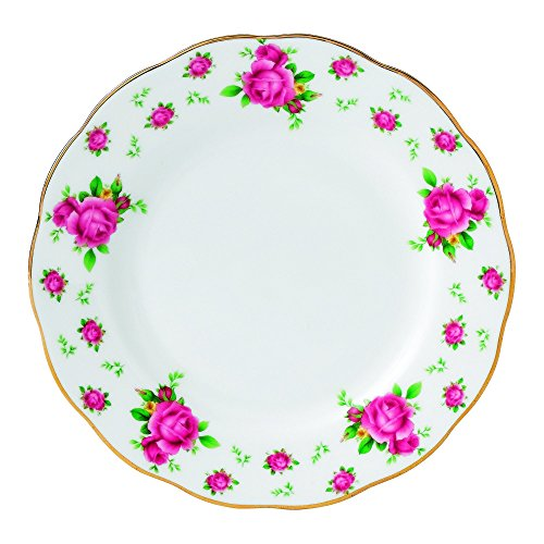 Royal Albert New Country Roses Formal Vintage Bread and Butter Plate, 6.4