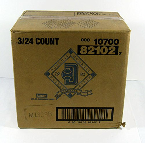 (1992 Donruss Baseball Series 1 Rack Box Case (3-24 Count))