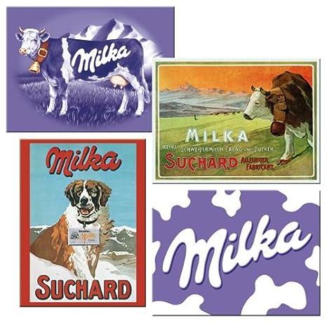 Milka Suchard perro vaca imanes de nevera imanes nevera chocolate ...