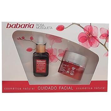 Babaria - Estuche Cuidado Facial, Rosa Mosqueta: Amazon.es ...