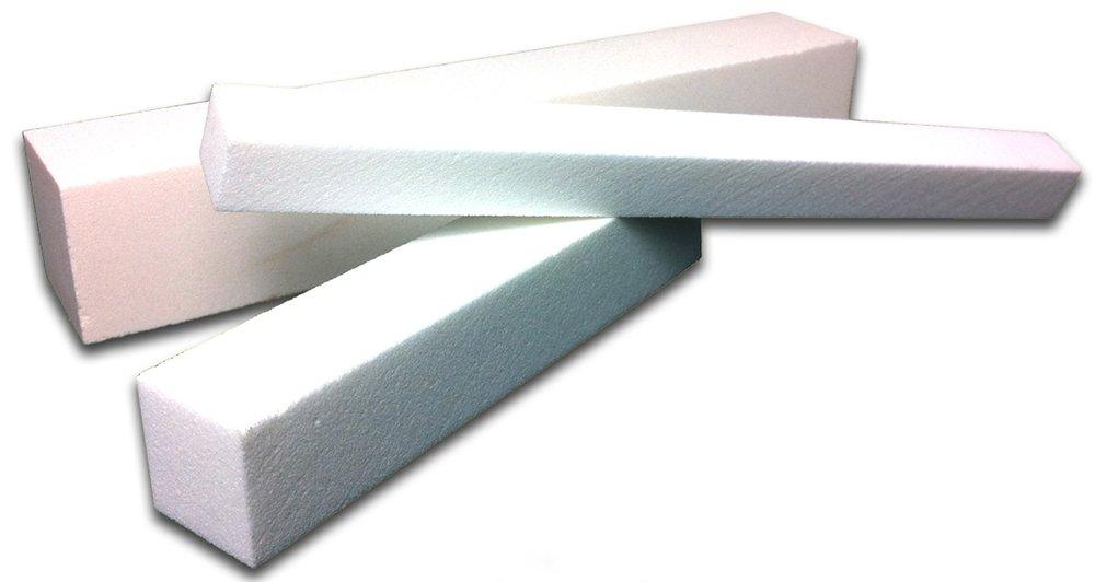 Sticks & Stones Abrasives 1/2'' Dresser 150 Dressing Stick, 150 Grit, 1/2'' x 1/2'' x 6'' (Pack of 10)
