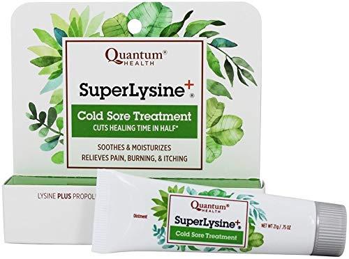 Super Lysine Plus Cream Quantum 0.75 oz Cream (Quantum Health Super Lysine Cold Sore Treatment)