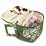 Best  - Zodaca Travel Cosmetic Organizer Carry Bag, Green Turtle Review