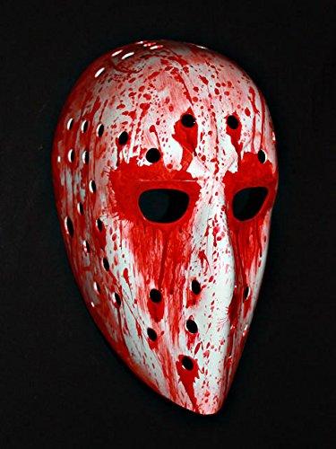1:1 Custom Vintage Fiberglass Roller NHL Ice Hockey Goalie Mask Helmet Pelle Lindbergh Blood Look HO09
