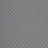 SKB family Car Floor Mat - Diamond Deck, 168'' x .08'' x 90'' x 70 lbs, Small Car Mat - Battleship Gray