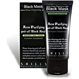 Blackhead Remover Mask, Mjun Peel Off Mask, Activated Natural Charcoal Black Mask Blackhead Peel Off Remover Deep Skin Clean Purifying Acne Mud Nose Face Mask (black)