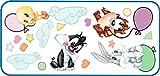 Baby Looney Tunes Balloon Fun Jumbo Wall Sticker