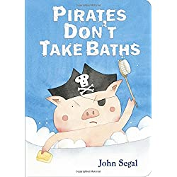Pirates Don't Take Baths Story Book