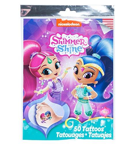 Savvi Nickelodeon Temporary Tattoos Shimmer product image