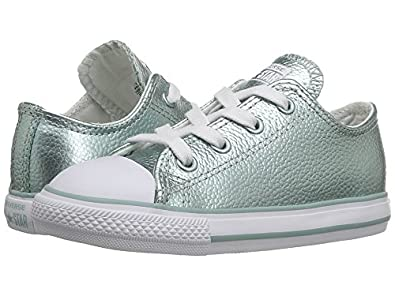 eb00d1ca2dac Image Unavailable. Image not available for. Colour  Converse Kids Chuck  Taylor All Star Ox Infant Toddler Metallic ...