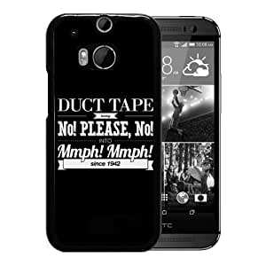 Duct Tape Durable High Quality HTC ONE M8 Phone Case