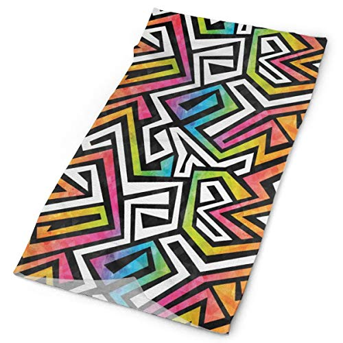 Graffiti Tribal Texture Unisex Outdoor Sport Scarf Headbands Bandana Mask Neck Gaiter Head Wrap Sweatband Headwear