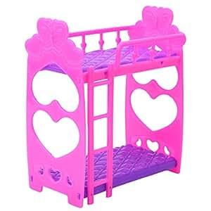 meolin bebé juguete cama niña Mini muebles de juguete de muñecas cama se adapta a Baby DOLLS