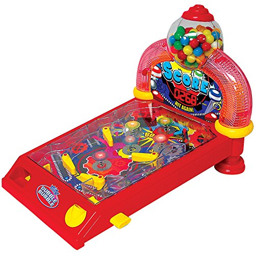 Dubble Bubble Pinball Gumball Machine Game w/ Electronic Lights And Sounds by SPECTRA MERCHANDISING INT'L