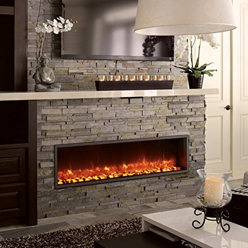 55 Quot Built In Led Electric Fireplace Buy Online In Uae