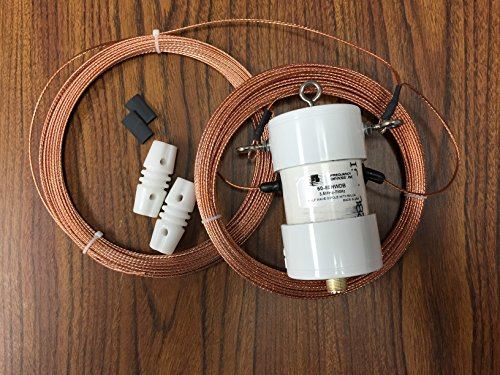 Frequency Devices 60 to 80 Meter Half Wave Dipole Antenna with Balun 60-80HWDB