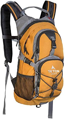 TETON Sports Oasis 1100 Hydration Pack Free 2-Liter Hydration Bladder For Backpacking, Hiking, Running, Cycling, and Climbing