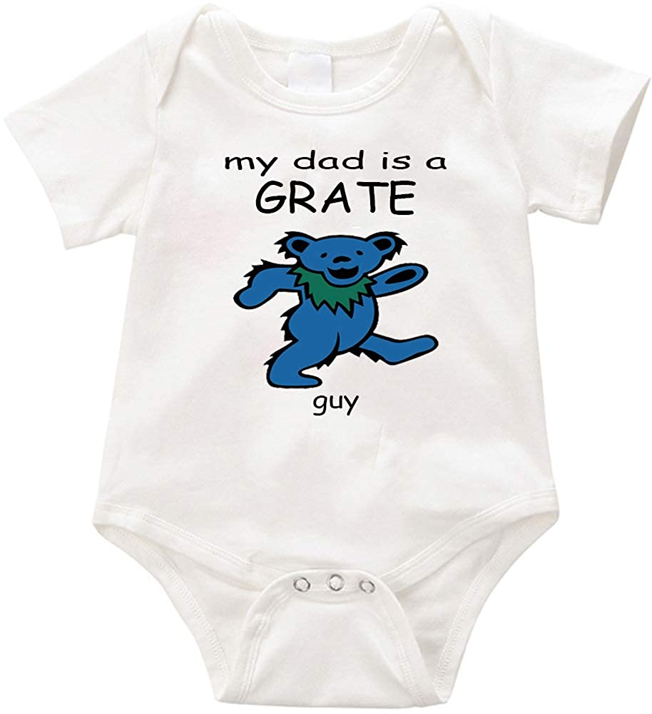 Unisex Romper Creeper -Birthday Baby Shower Uncle Grandma Aunty Christmas Anicelook  My dad is a Grate Guy