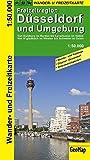 Düsseldorf und Umgebung Wander- und Freizeitkarte 1:50.000