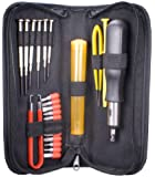 QVS 23 Piece Computer Maintenance Tool Kit with Precision Screwdrivers (CA215P)
