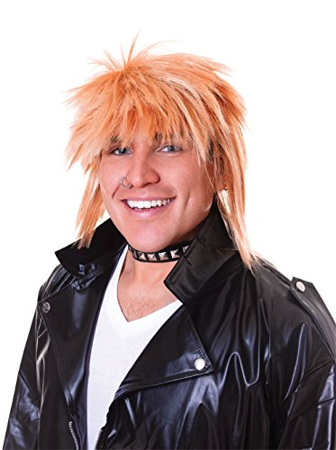 Bristol Novelty BW655 Spikey Wig Male, Blonde, One