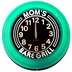 Moms Bar and Grill Deco Clock