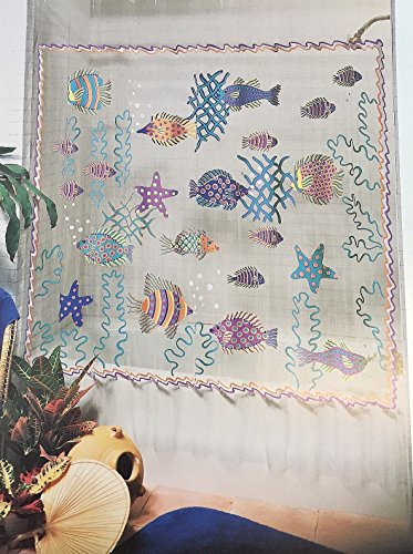 - CHF Vinyl Shower Curtain Tropical Fish Reef 70