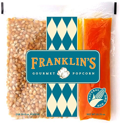 Franklin's Gourmet Popcorn All-In-One