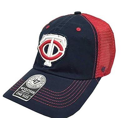 MLB Mesh Trucker Minnesota Twins Taylor Closer FlexFit Hat/Cap