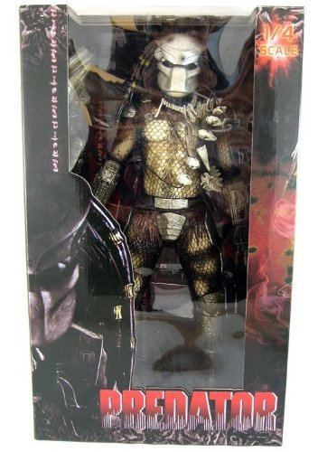 NECA Predator Movie Quarter Scale Action Figure Classic Predator Masked